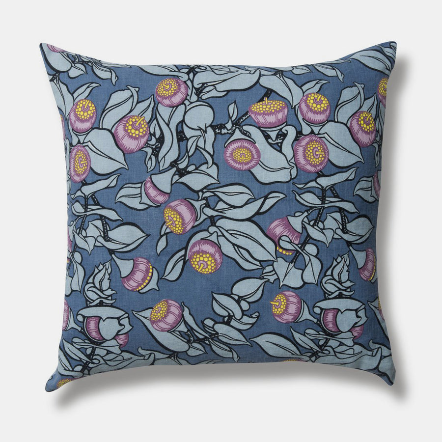 Violet Mottlecah Pillow, square