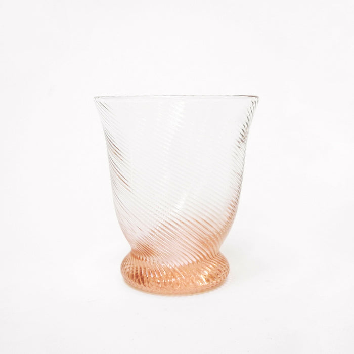 Blue Pheasant PIerre Pink Tumbler Glass for elegant dining and colorful tablescapes - Collyer's Mansion