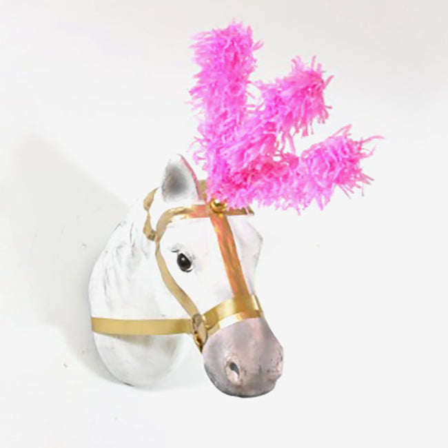 Pink Circus Horse Wall Mount