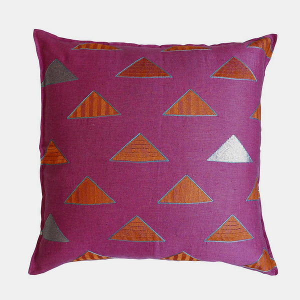 Pinnacle Fuchsia Pillow, euro