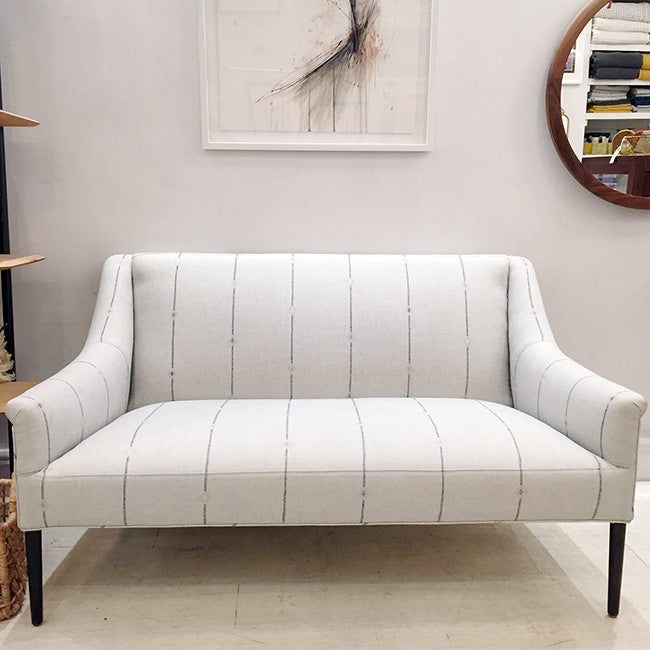 Floor Model Piper Loveseat, fatima mist