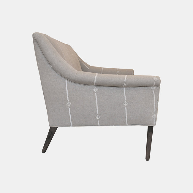 Piper Loveseat in Amal Natural White