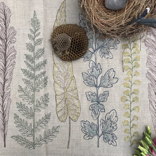 Plants Table Runner