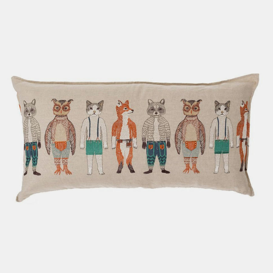 Pocket Dolls Pillow, lumbar