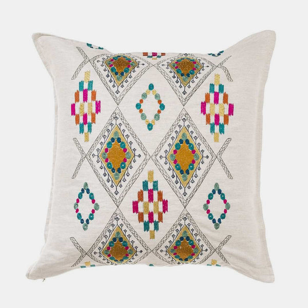Portico and Ivory Pillow, square
