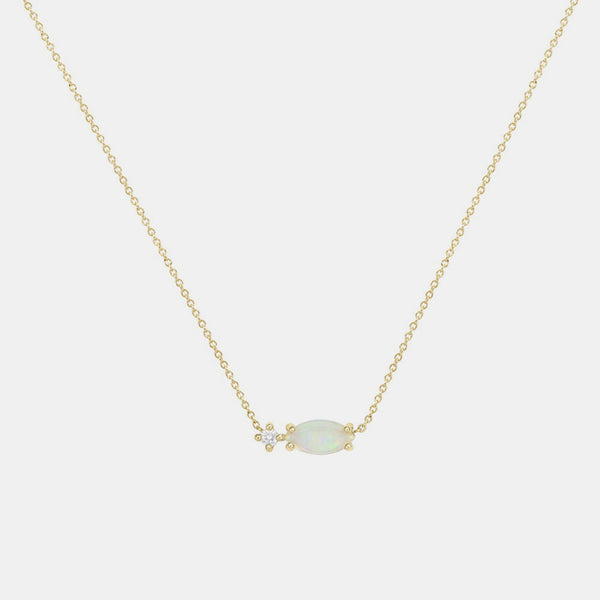 Princess Opal Necklace