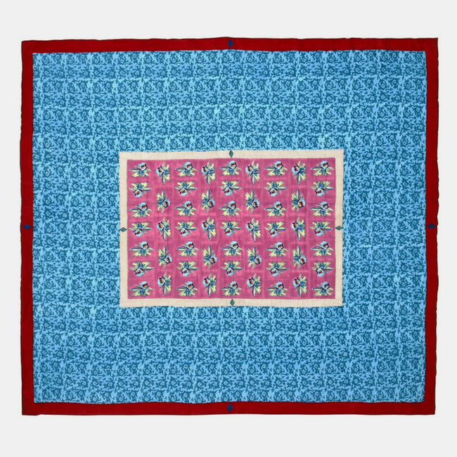 Arabesque Mauve Quilt, queen/king, Quilt, Lisa Corti, Collyer's Mansion - Collyer's Mansion
