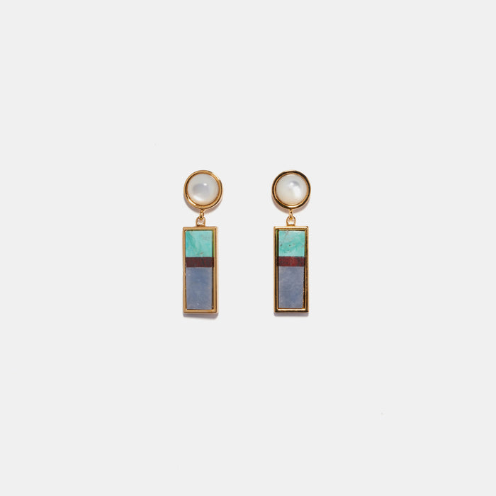 Cuban Column Earrings