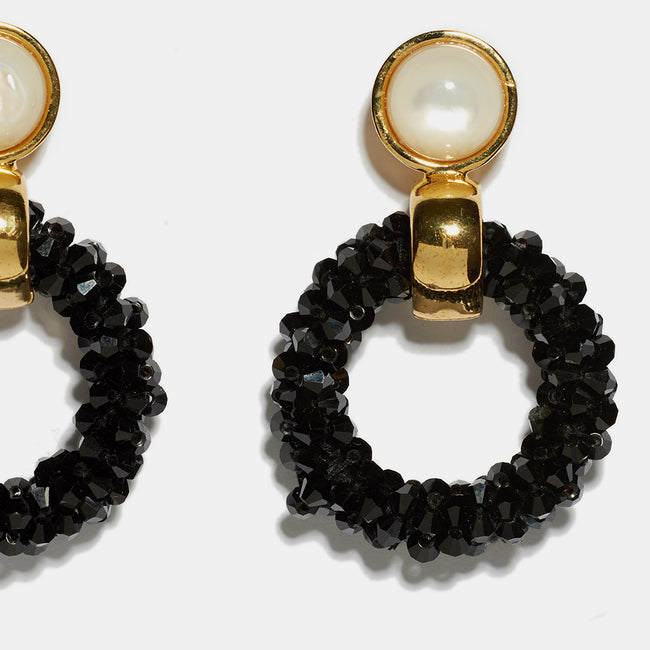 Brancusi Hoops in Black