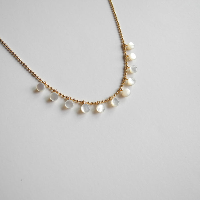 Mini Mother of Pearl Necklace