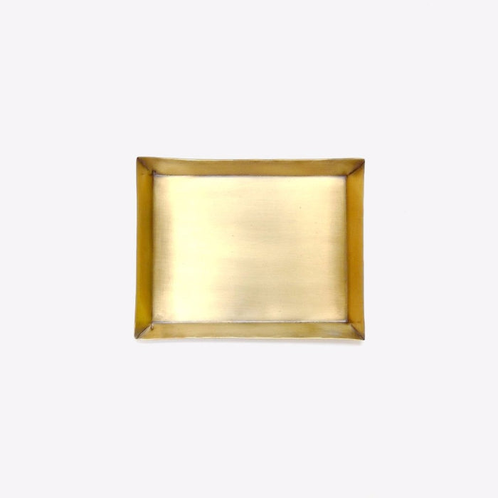 Fog Linen Rectangle Brass Tray for dining or home decor - Collyer's Mansion
