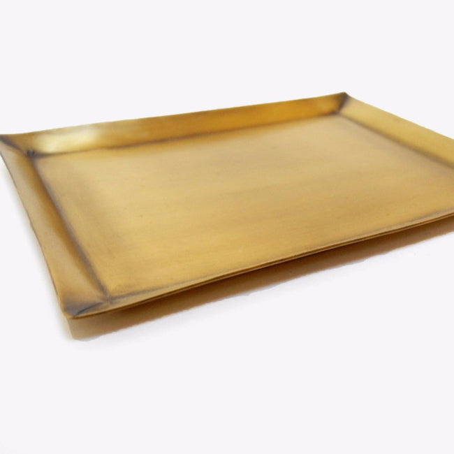 Rectangle Brass Tray