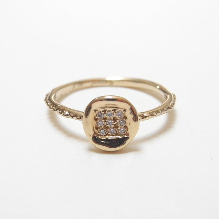 Diamond Button Ring, Ring, Satomi Kawakita, Collyer's Mansion - Collyer's Mansion