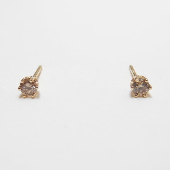 Brown Diamond Studs