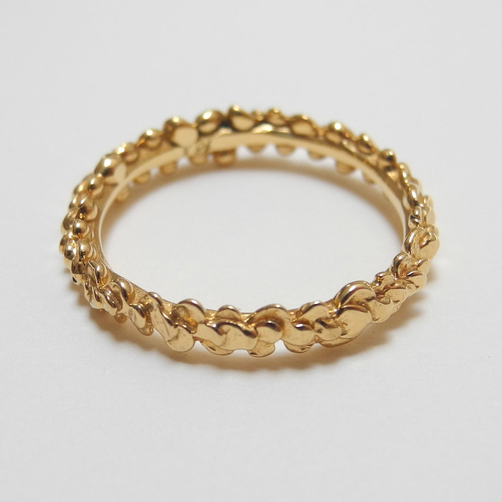 18k Gold Laurel Ring