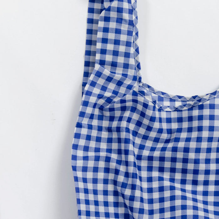Blue Gingham Standard Bag, Bag, Baggu, Collyer's Mansion - Collyer's Mansion