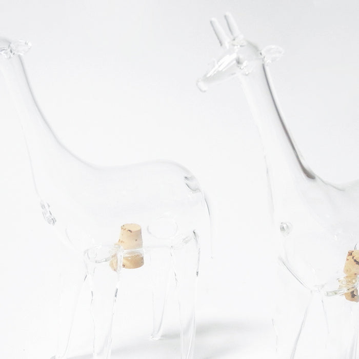 Giraffe Salt and Pepper Shakers, Salt Box, Roost, Collyer's Mansion - Collyer's Mansion