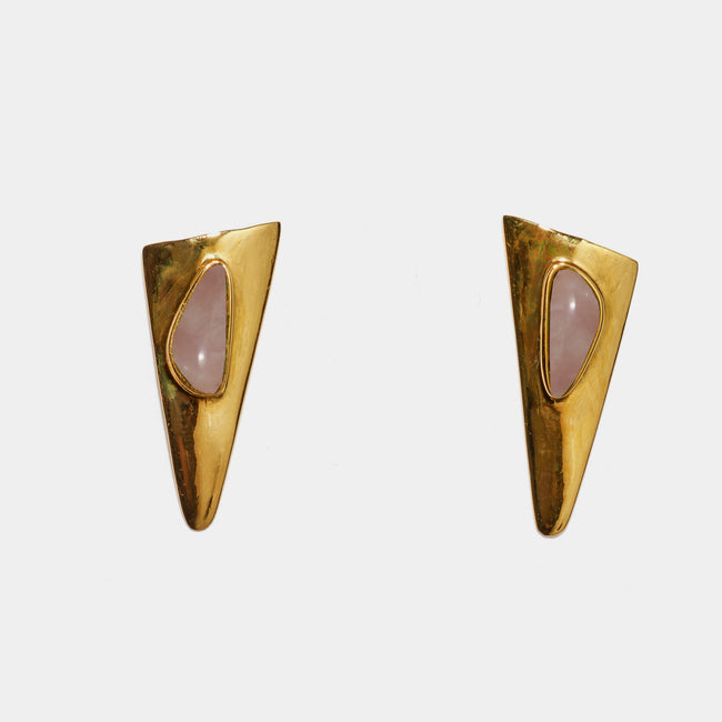 Tundra Earrings in Pink