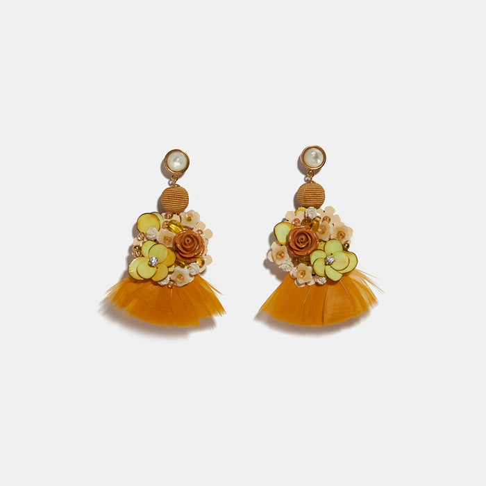 French Marigold Earrings, Earrings, Lizzie Fortunato, Collyer's Mansion - Collyer's Mansion