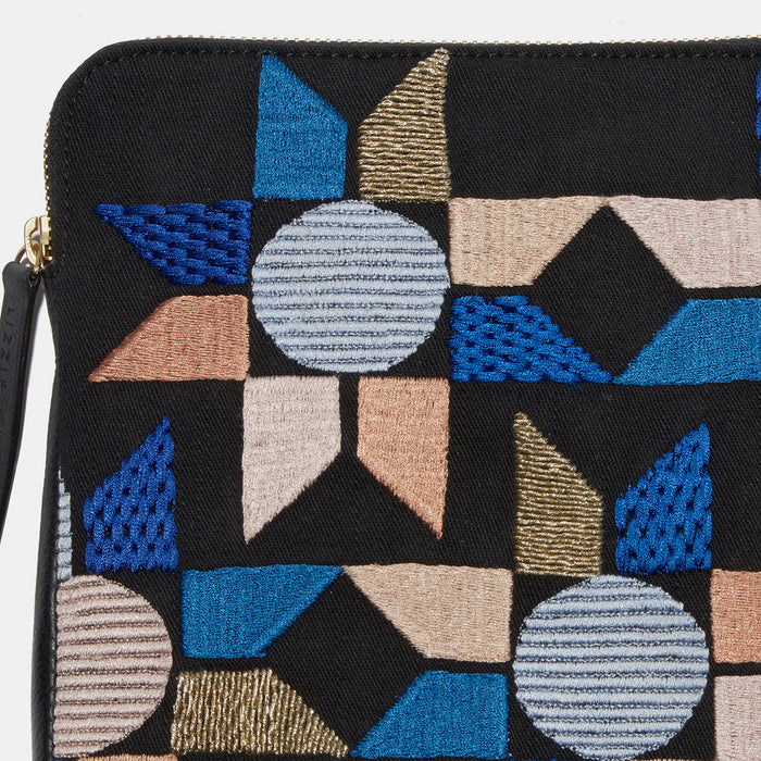 Safari Clutch in Patchwork