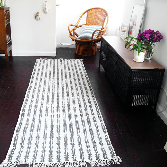 Sawtooth Stripe Runner