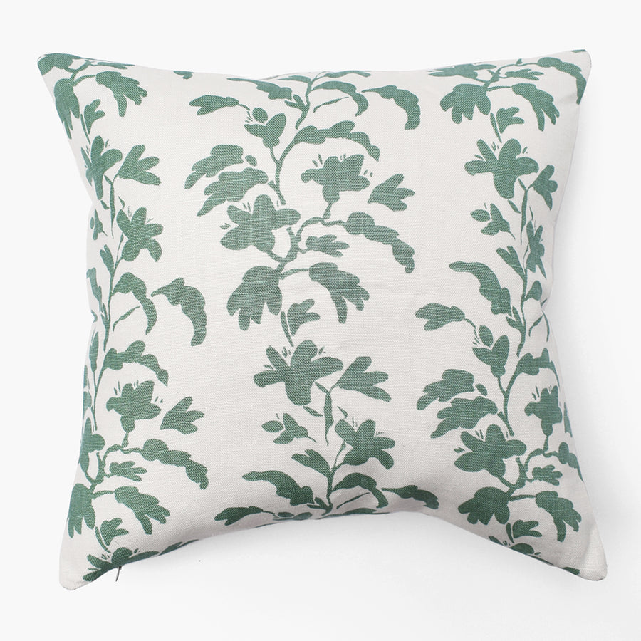 Sage Vine Pillow, square