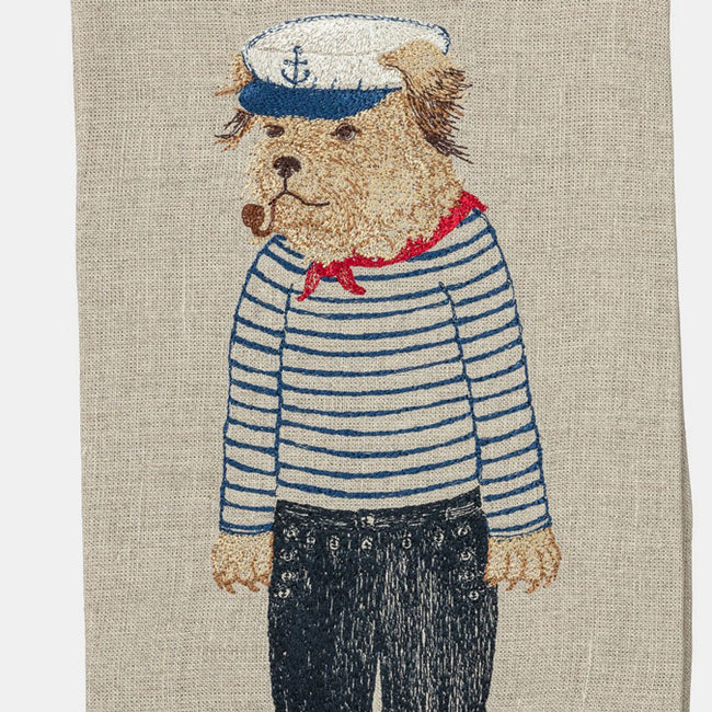 Salty Dog Tea Towel
