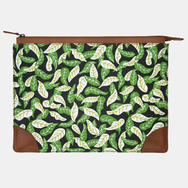 Shaken Leaves Laptop Case
