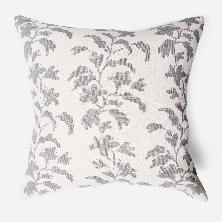 Designer Pillow with Silver Vine - Collyer's Mansion