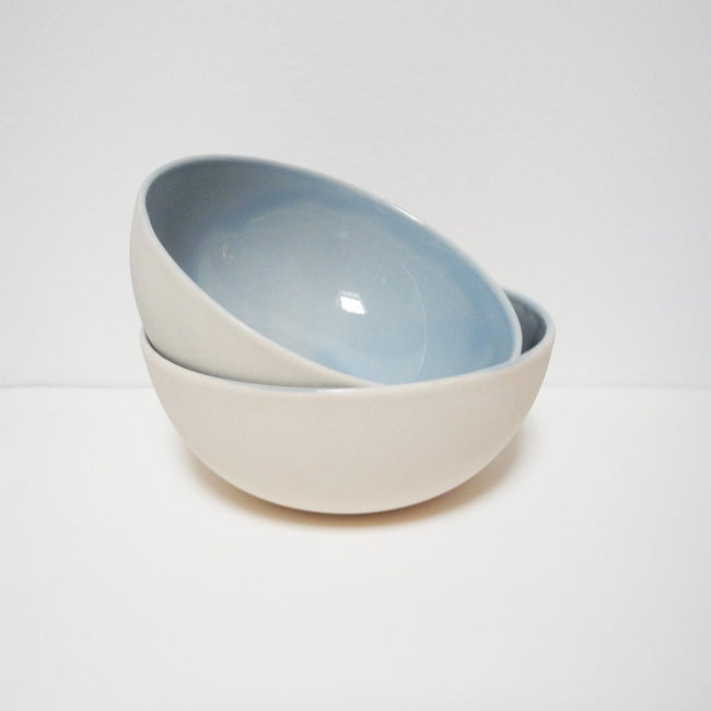 Bisque Bowl, blue, Bowl, Canvas Home, Collyer's Mansion - Collyer's Mansion