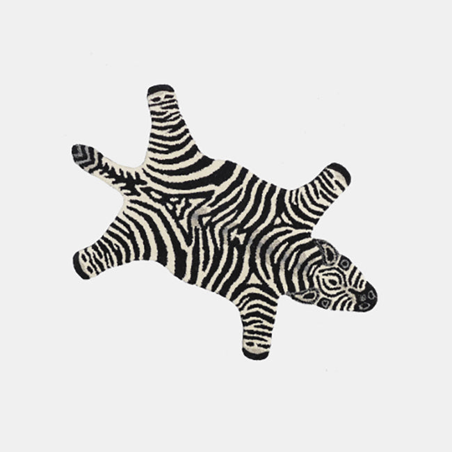 Chubby Zebra Rug, Rug, Doing Goods, Collyer's Mansion - Collyer's Mansion