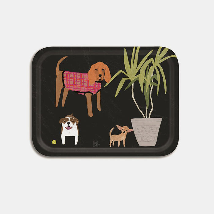 Dogs Tray, small