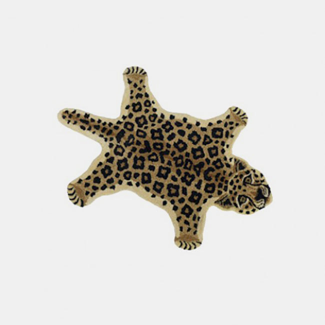 Loopy Leopard Rug, Rug, Doing Goods, Collyer's Mansion - Collyer's Mansion