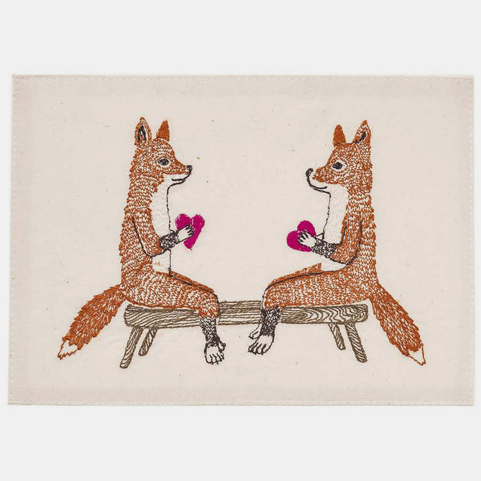 Smitten Foxes Stationery