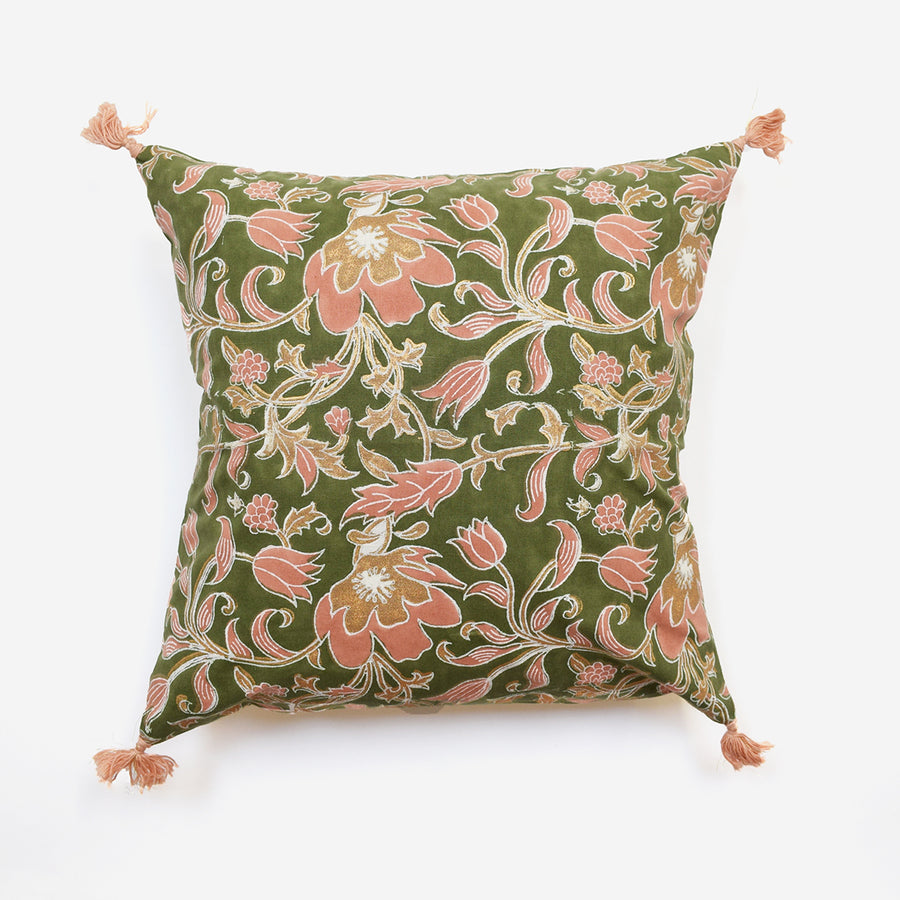 Sonali Khaki Pillow, square