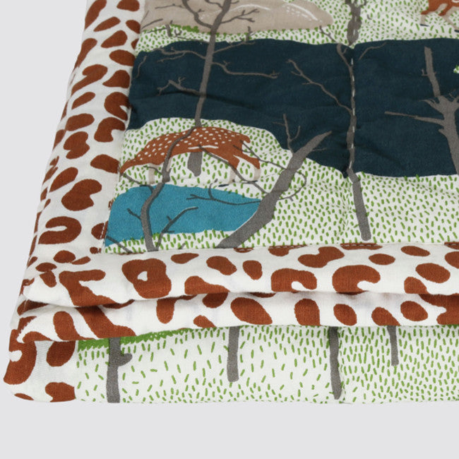 Spotted Deer Twin Quilt