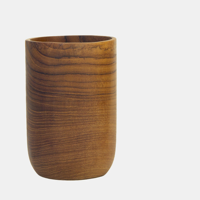 Large Teak Root Cup