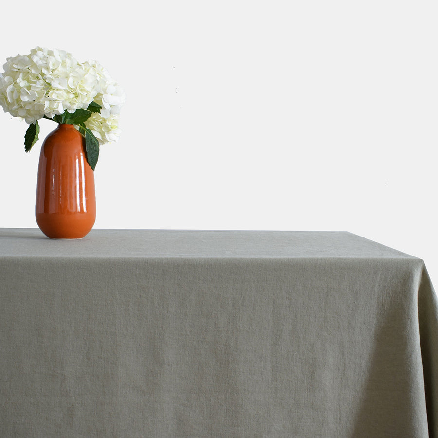 Linen Tablecloth, fennel
