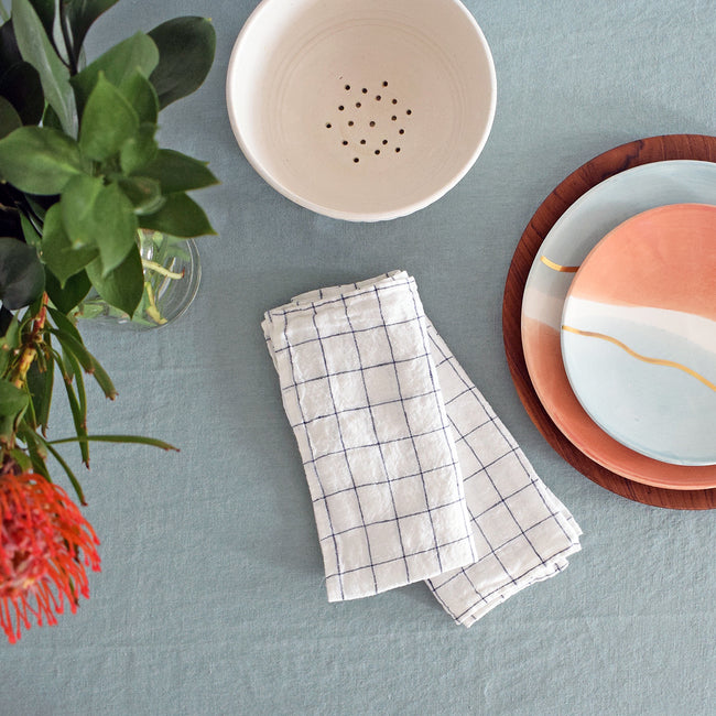 Linen Tablecloth, sage