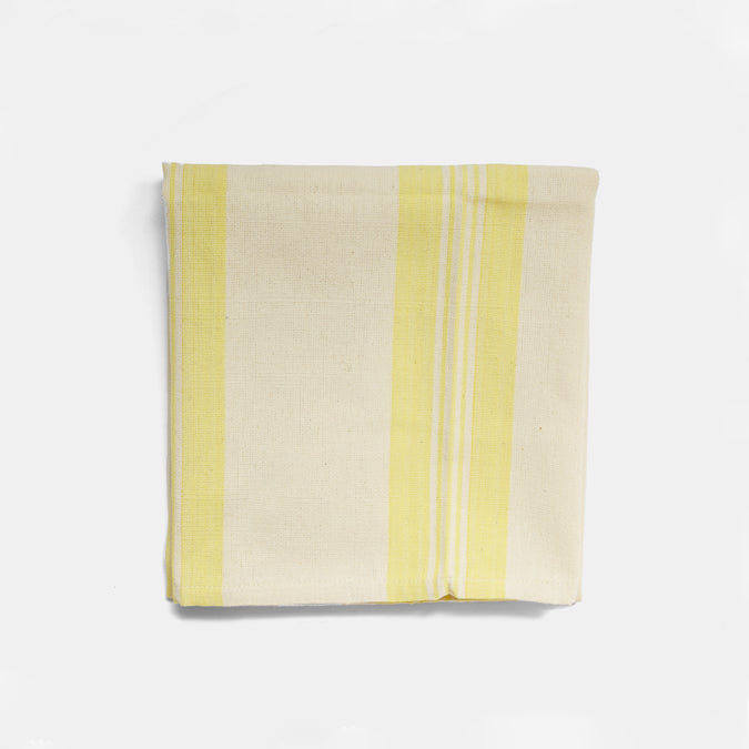 Yellow Stripe Kitchen Towel