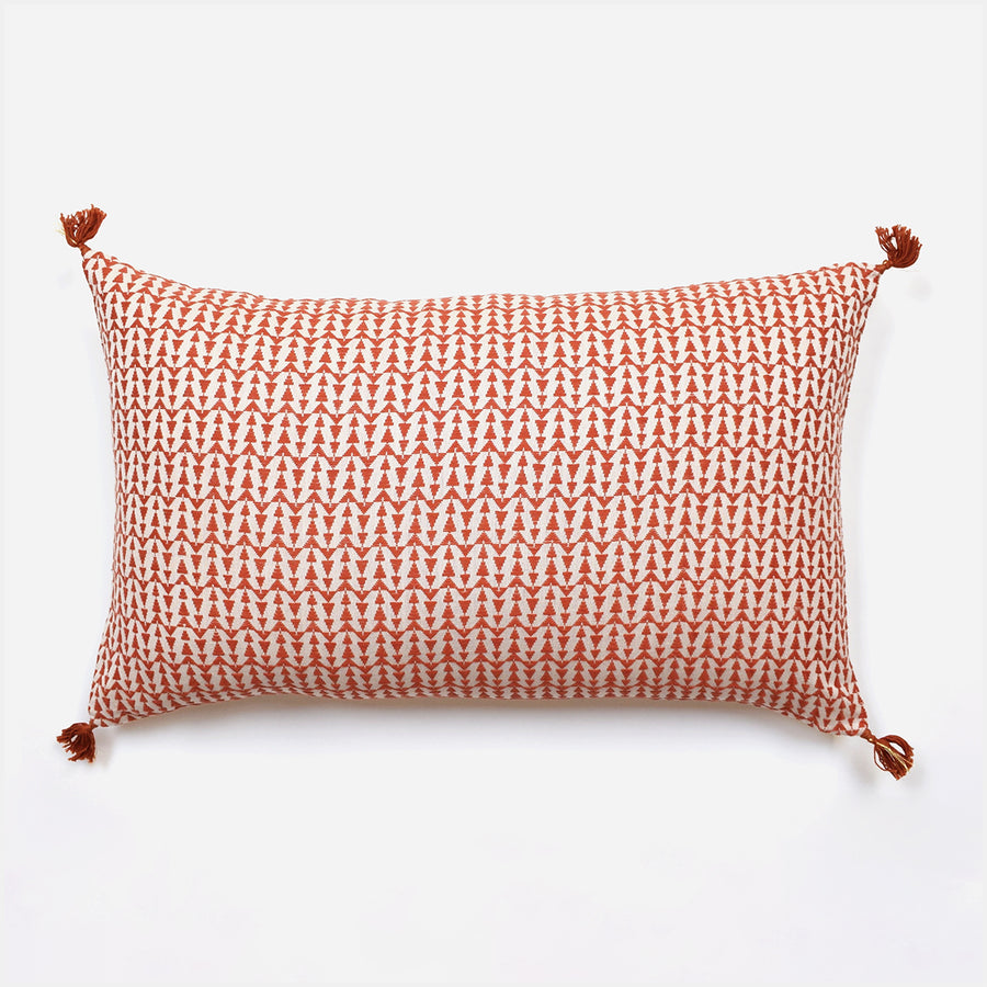 Ashu Terracotta Pillow, lumbar