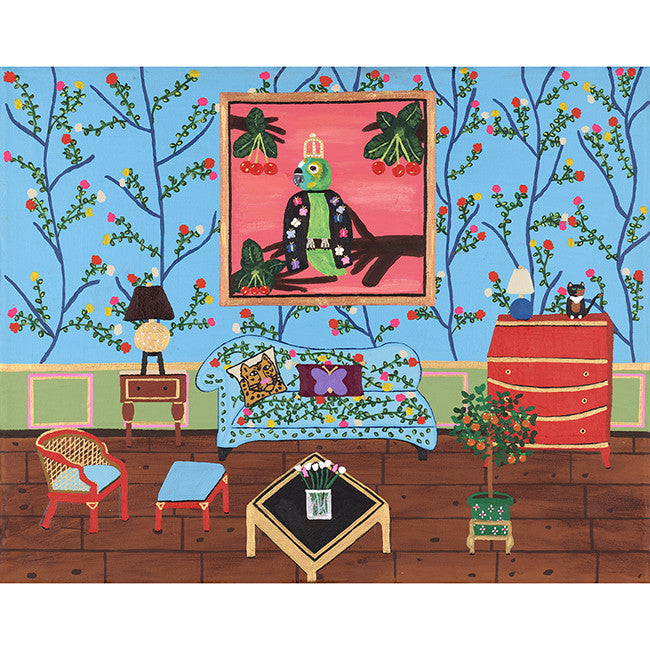 The Garden Room from the Royal Interiors Print Series