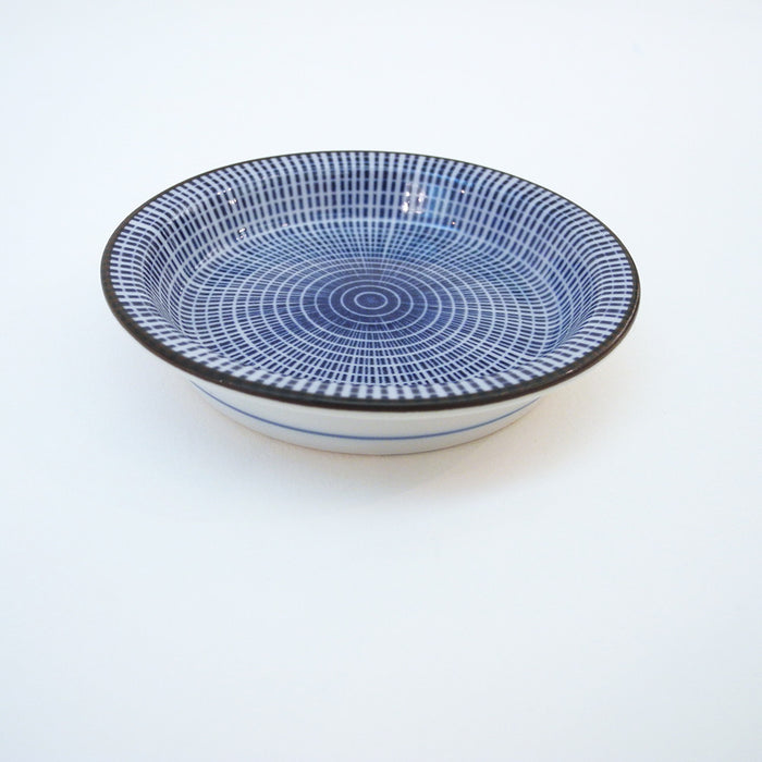 Tokusa Plate, rimmed