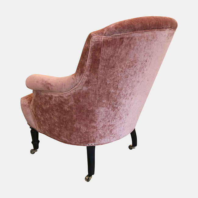 Tulip Chair in Velluto Rose