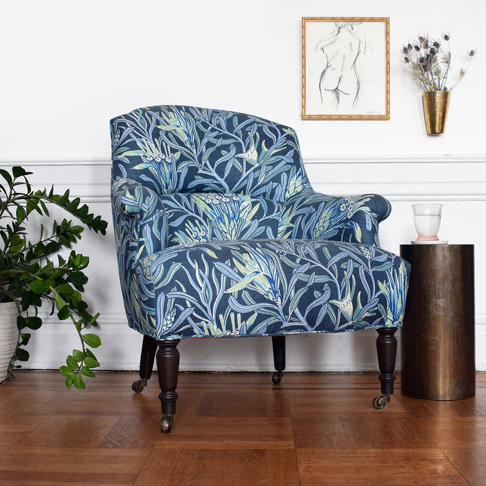 Tulip Chair in Mountain Devil Teal