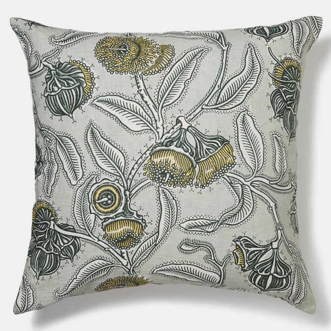 Youngiana Grey Pillow, square