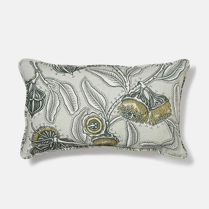 Youngiana Grey Pillow, lumbar