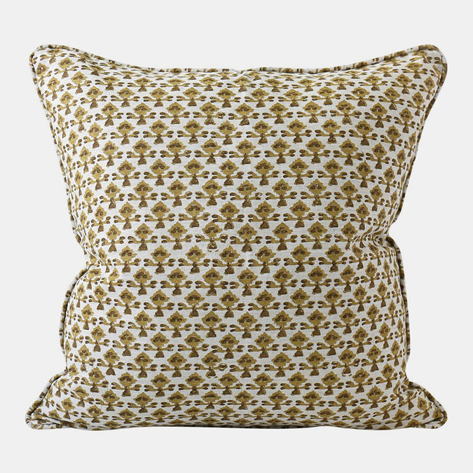 Montenegro Saffron Pillow, square