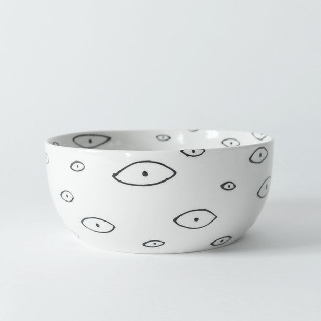 Eye Serving Bowl, wide