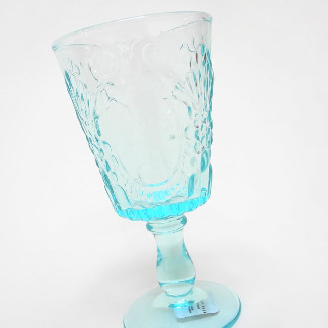 Grace Wine Glass, Glass, Blue Pheasant, Collyer's Mansion - Collyer's Mansion